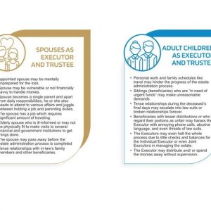 Feature image for Role of Executors and Trustee Part 2